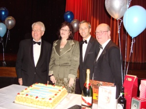 David Sumberg MEP, Cllr Michelle Wiseman, David Nuttall, Alistair Burt MP
