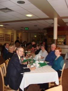 David at Church Ward Dinner