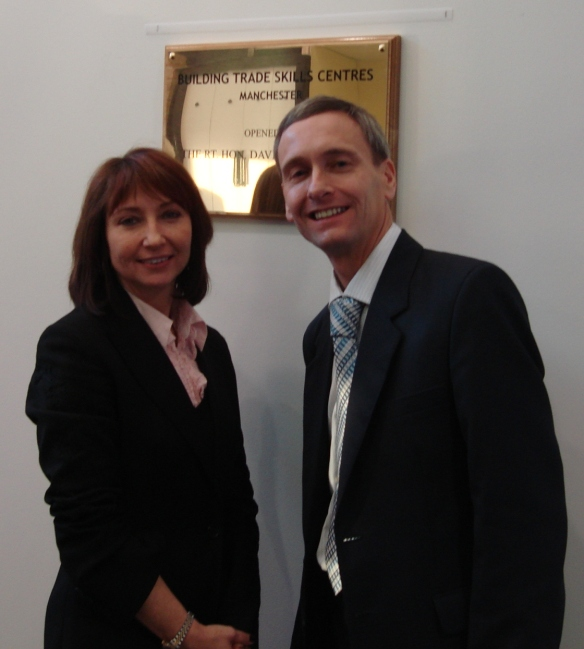 David with Verity Mortlock National Head of Marketing at BTSC