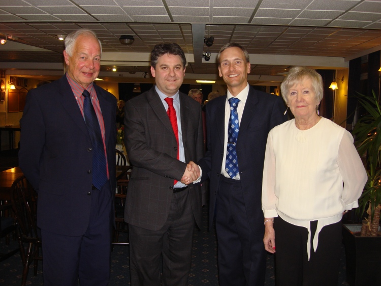 John Holt (Chairman), Philip Davies MP, David Nuttall, Pamela Watkins (Secretary)