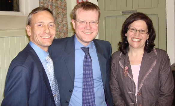 Myself, Councillor Alex Williams, Councillor Michelle Wiseman