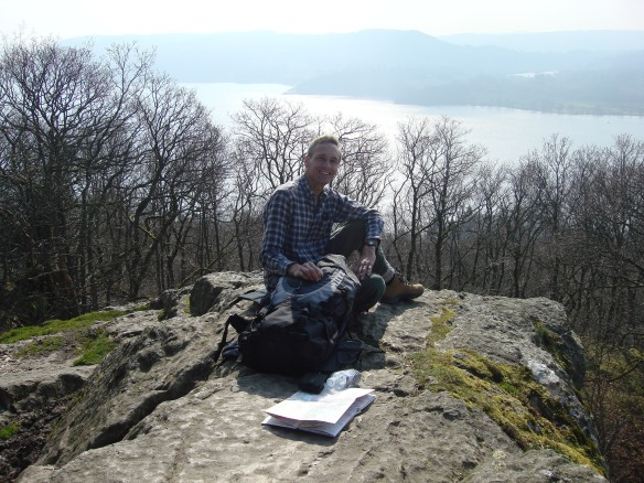 David at Jenkin Crag Ambleside