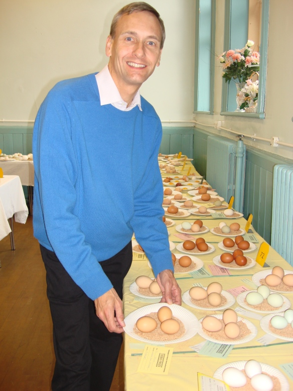 David at the Tottington and District Horticultural Show