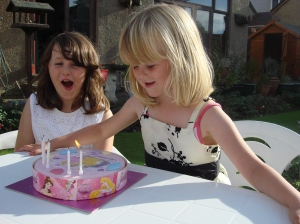Blowing out candles 06