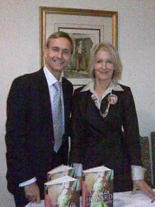 David with Sandra Howard