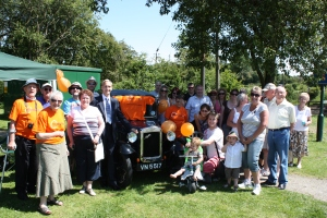 David with members of the Myeloma Support Group