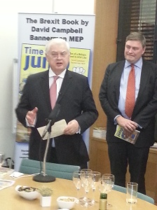 Lord Lamont and David Campbell Bannerman MEP